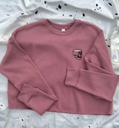 Dead Fresh | Cropped Sweater Pink