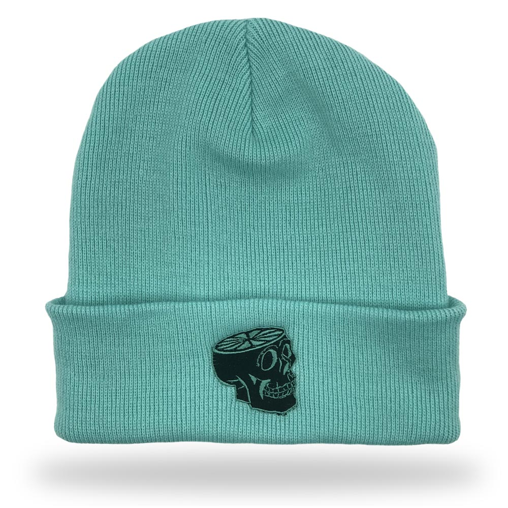 Teal Hat   Embroidered Hat   Dead Fresh