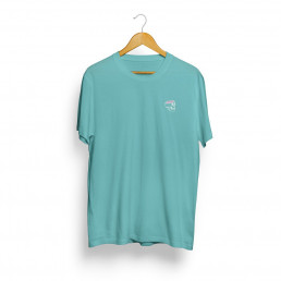 T-shirt Embroidered Teal Dead Fresh