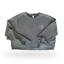 Sweater | cropped | grey
